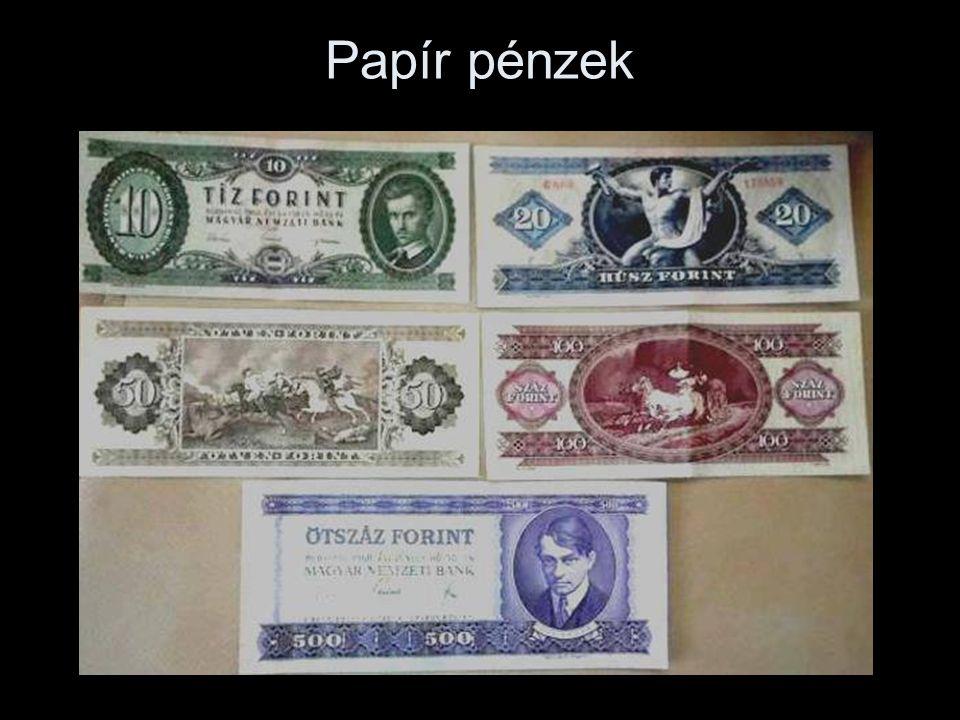 Papír pénzek
