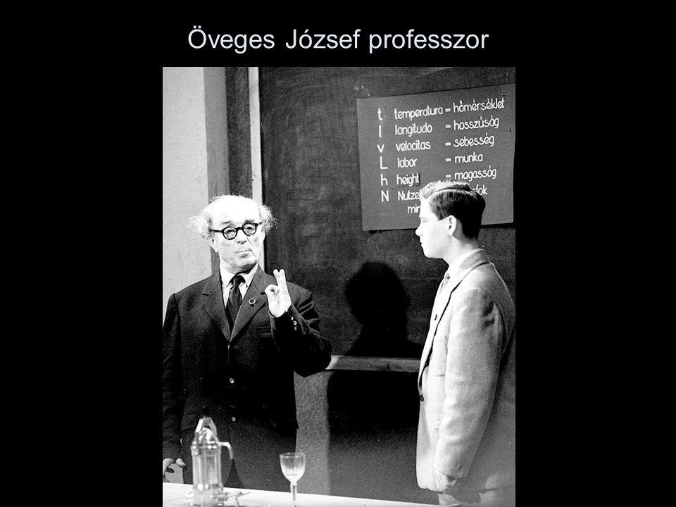 Öveges József professzor
