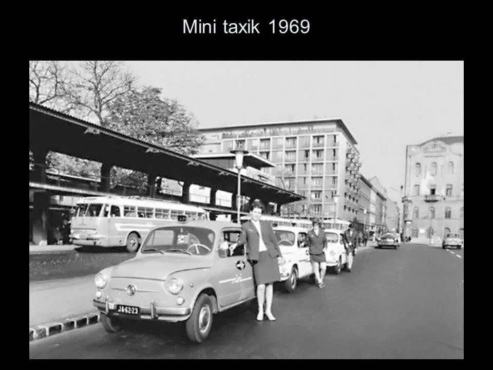 Mini taxik 1969