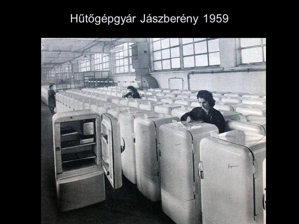 Hűtőgépgyár Jászberény 1959