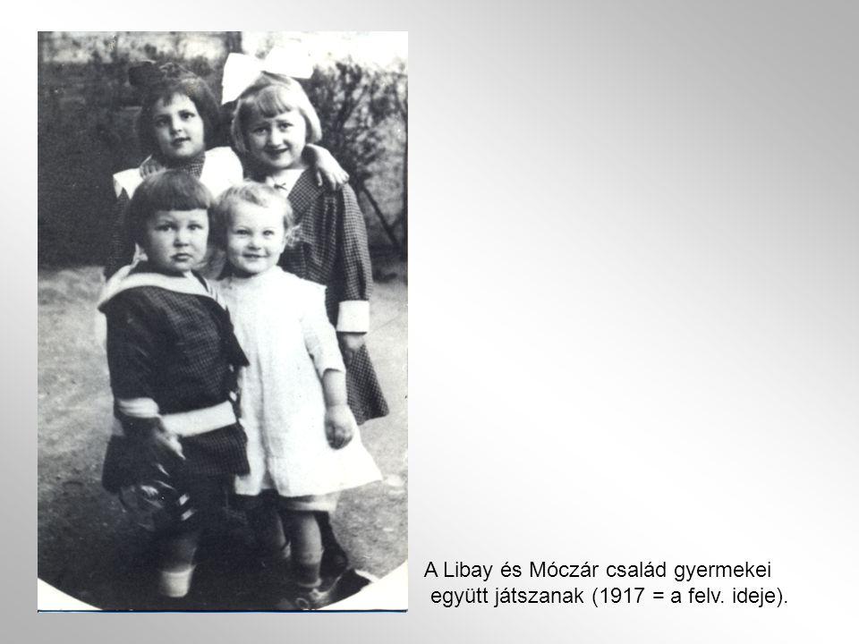 A Libay és Móczár család gyermekei