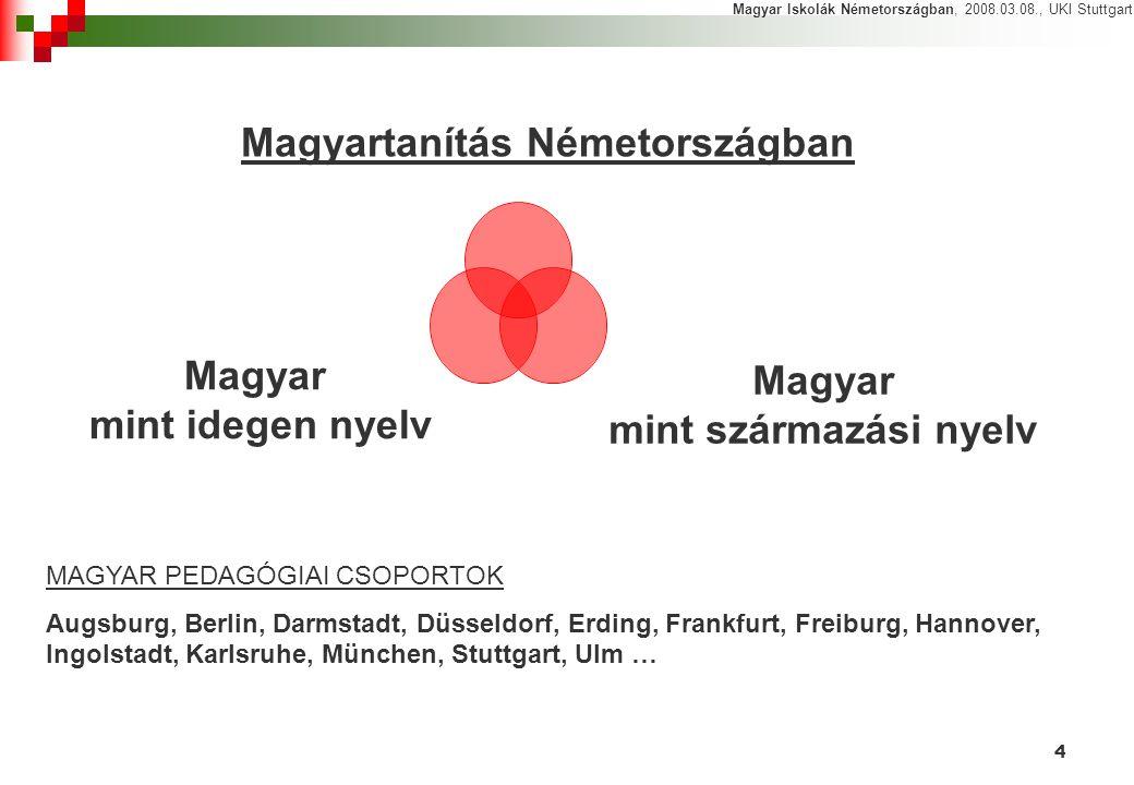Magyartanítás Németországban
