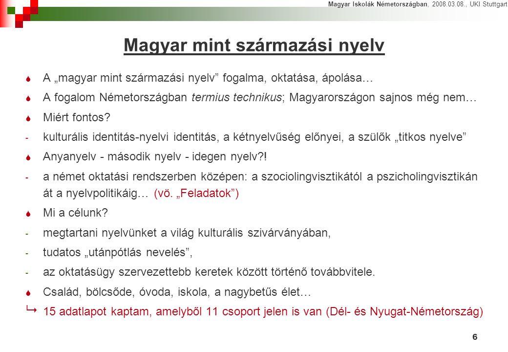 Magyar mint származási nyelv