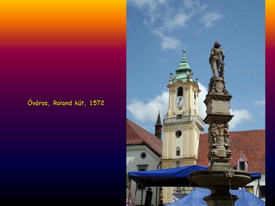 Óváros, Roland kút, 1572