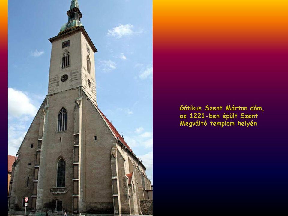 Gótikus Szent Márton dóm,