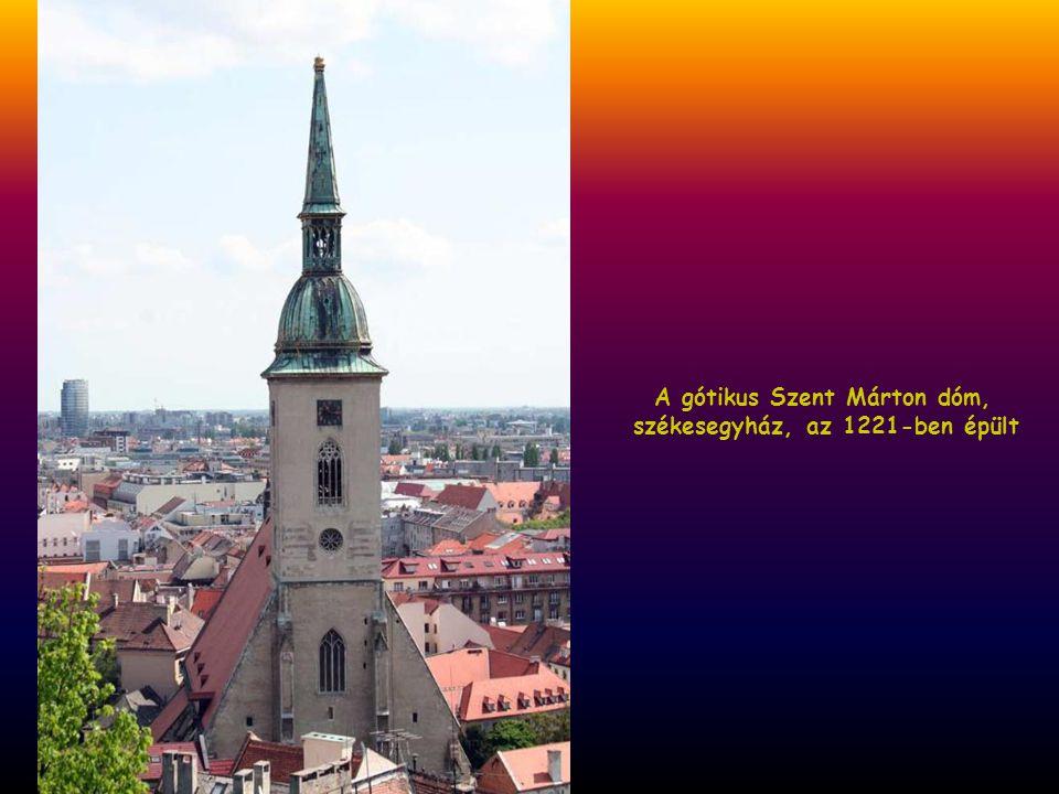 A gótikus Szent Márton dóm,