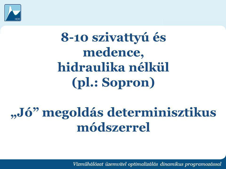 8-10 szivattyú és medence, hidraulika nélkül (pl