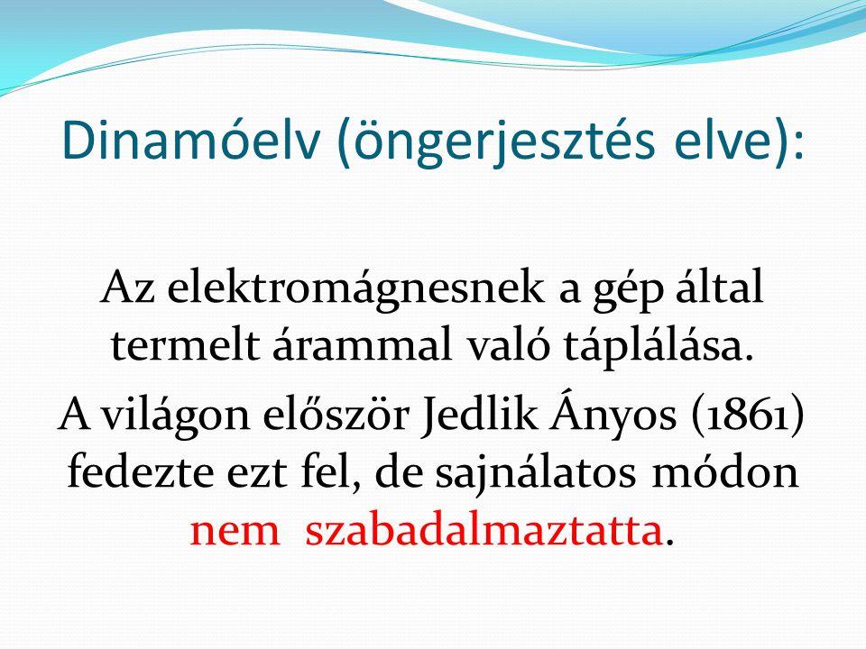 Dinamóelv (öngerjesztés elve):