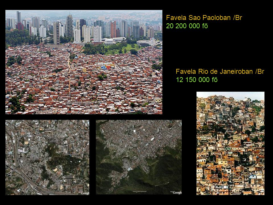 Favela Sao Paoloban /Br