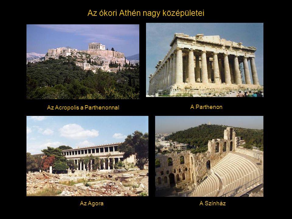 Az ókori Athén nagy középületei