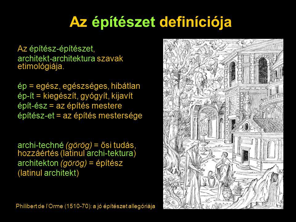 Az építészet definíciója