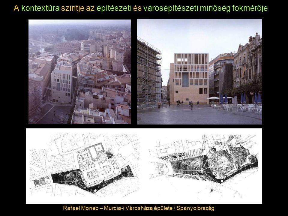 A kontextúra szintje az építészeti és városépítészeti minőség fokmérője