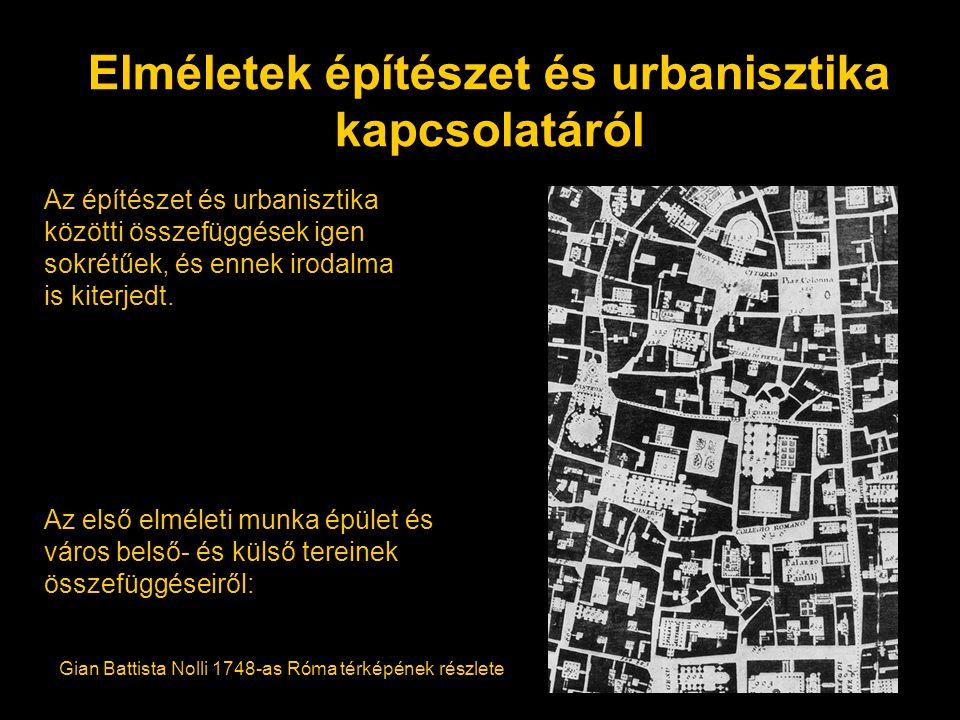 Elméletek építészet és urbanisztika kapcsolatáról