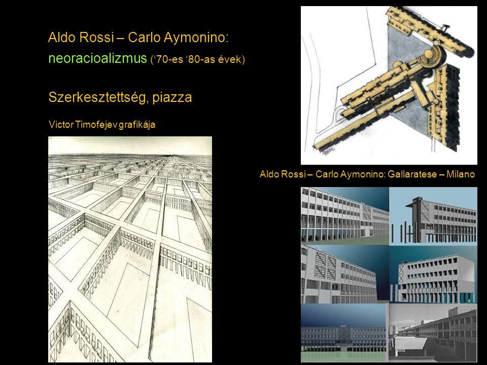 Aldo Rossi – Carlo Aymonino: