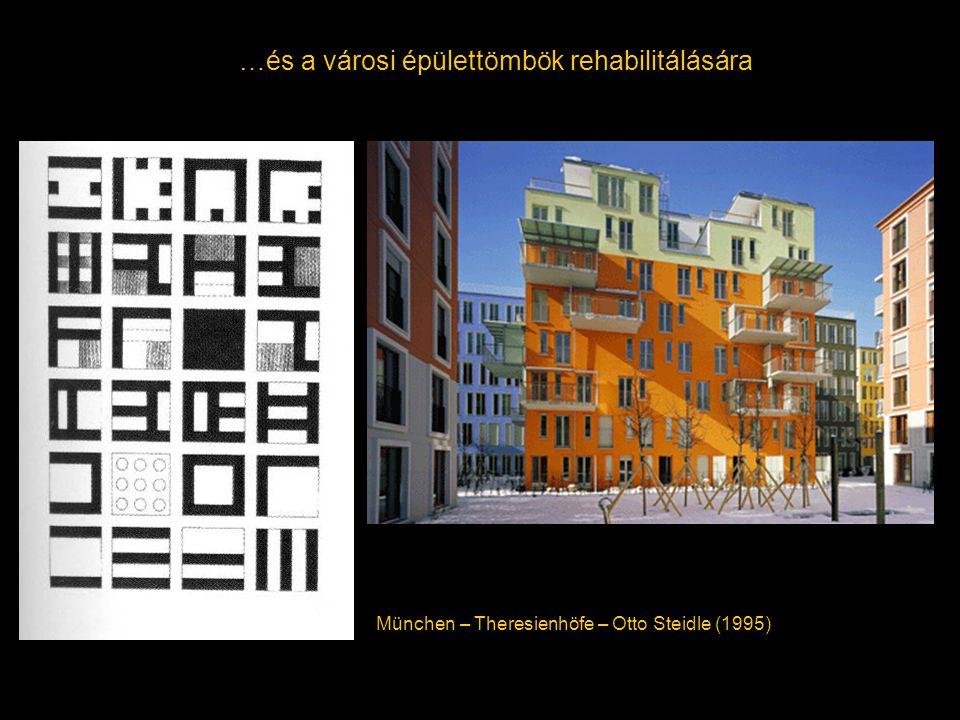 …és a városi épülettömbök rehabilitálására