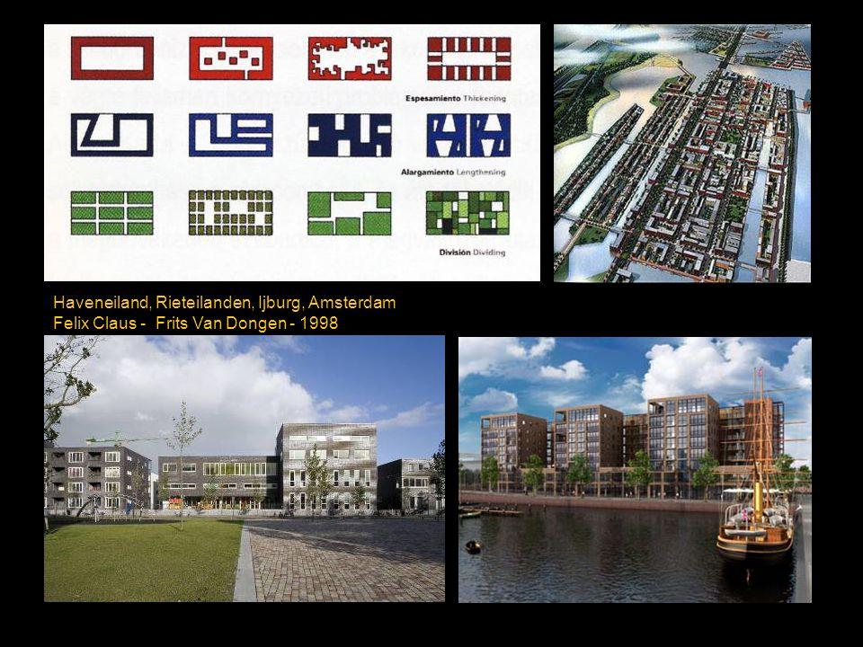 Haveneiland, Rieteilanden, Ijburg, Amsterdam