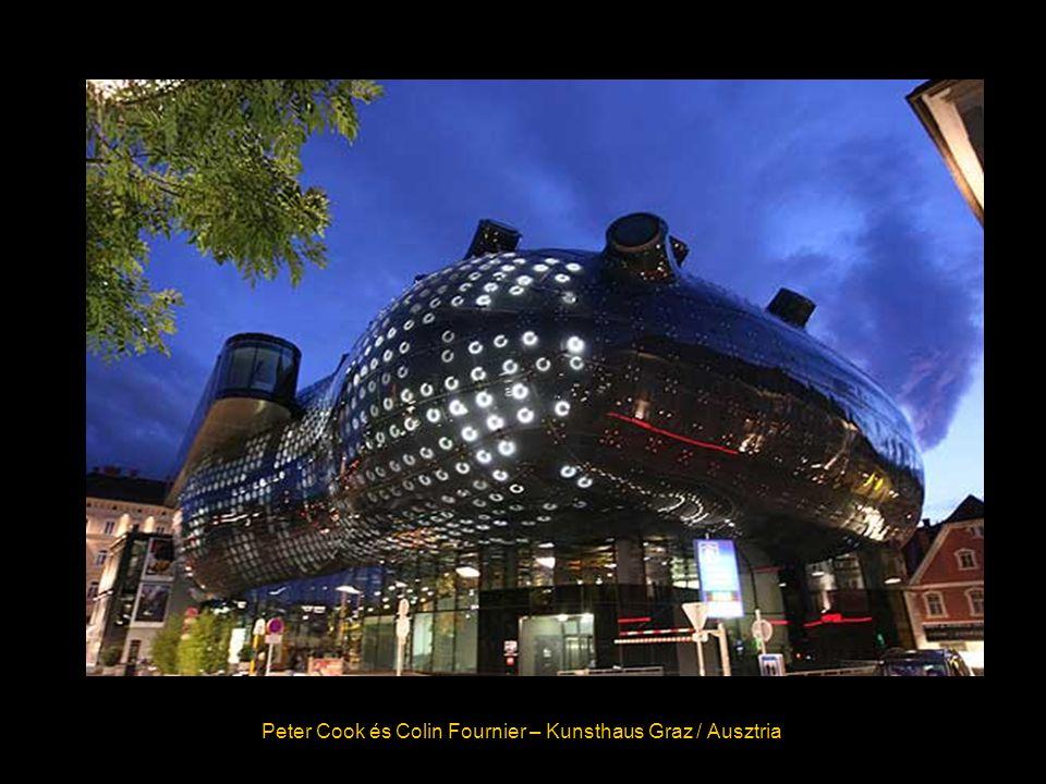 Peter Cook és Colin Fournier – Kunsthaus Graz / Ausztria