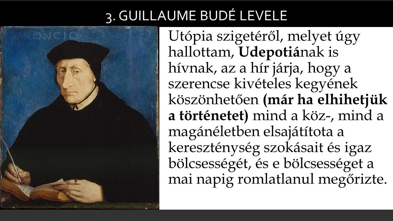 3. Guillaume budé levele