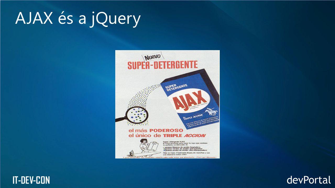 AJAX és a jQuery