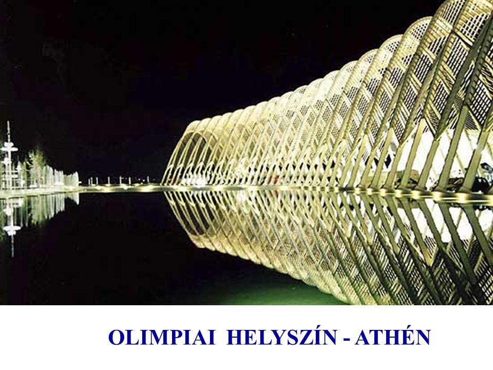 OLIMPIAI HELYSZÍN - ATHÉN