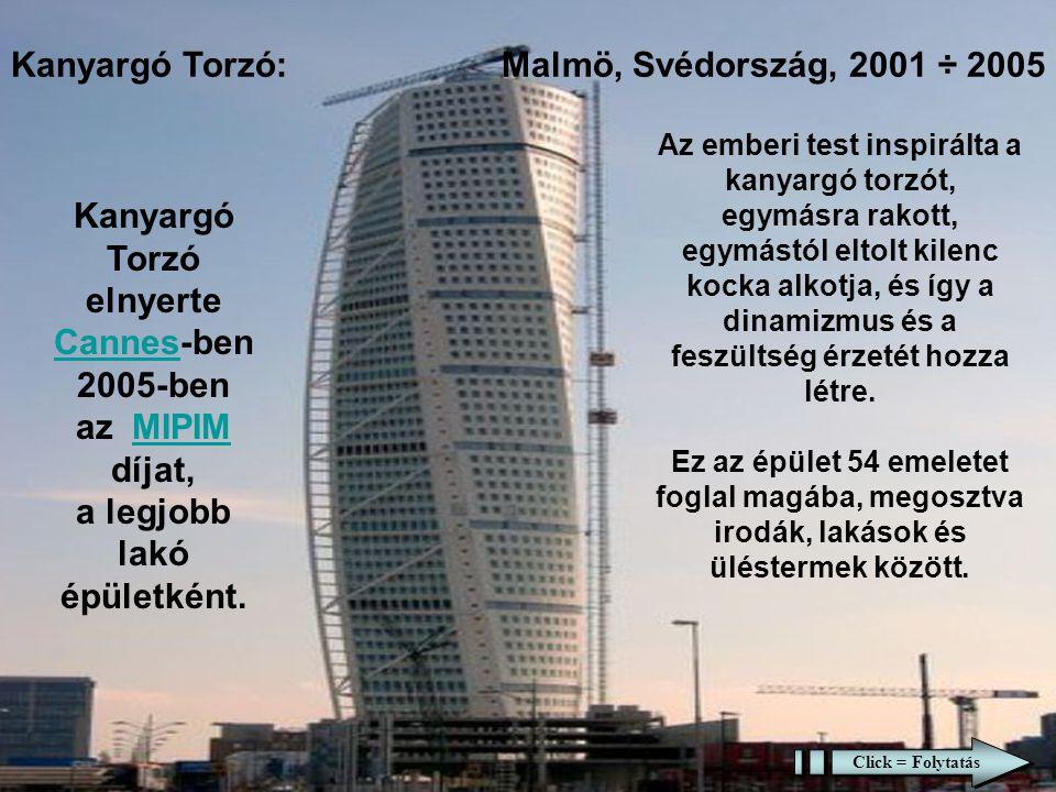 Kanyargó Torzó: Malmö, Svédország, 2001 ÷ 2005