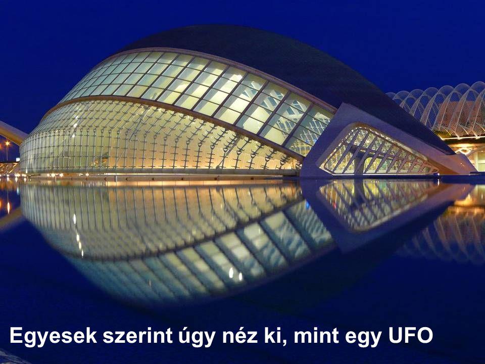 Egyesek szerint úgy néz ki, mint egy UFO …