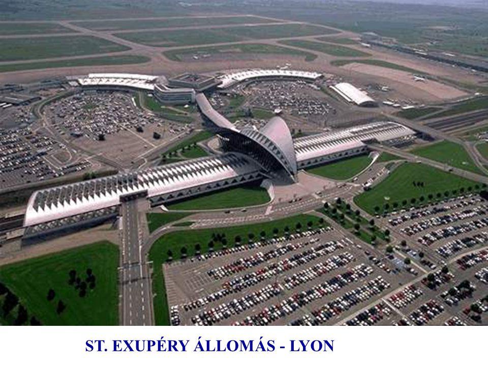 ST. EXUPÉRY ÁLLOMÁS - LYON