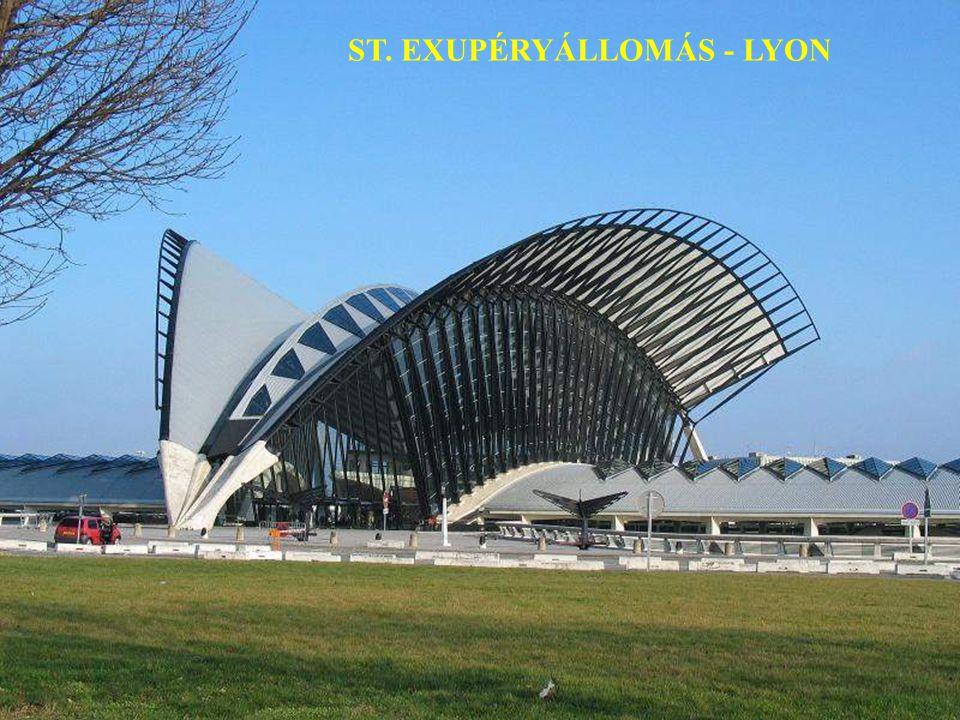 ST. EXUPÉRYÁLLOMÁS - LYON
