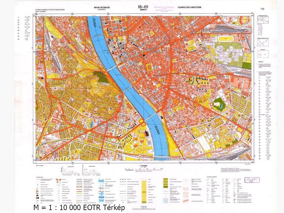 M = 1 : 10 000 EOTR Térkép