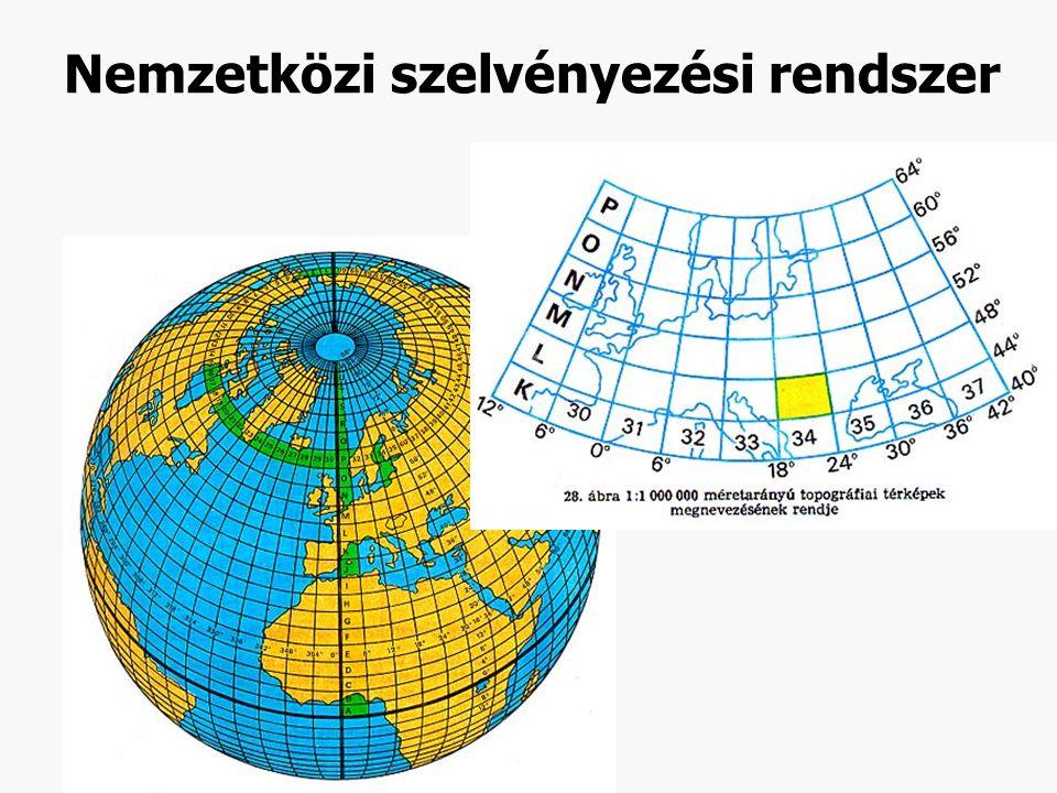 Nemzetközi szelvényezési rendszer