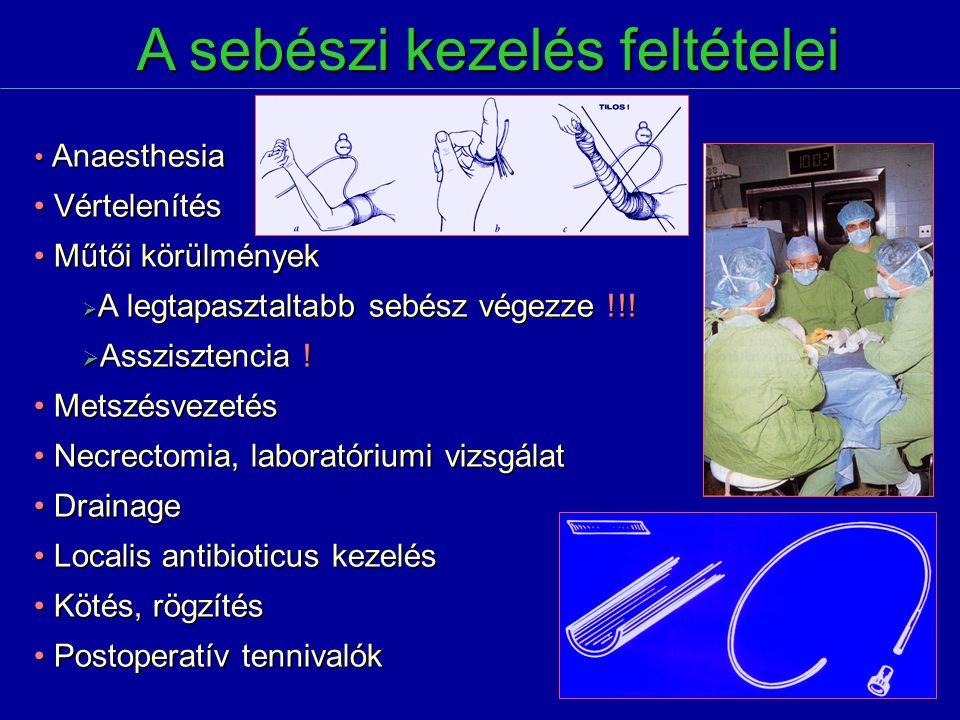 A sebészi kezelés feltételei