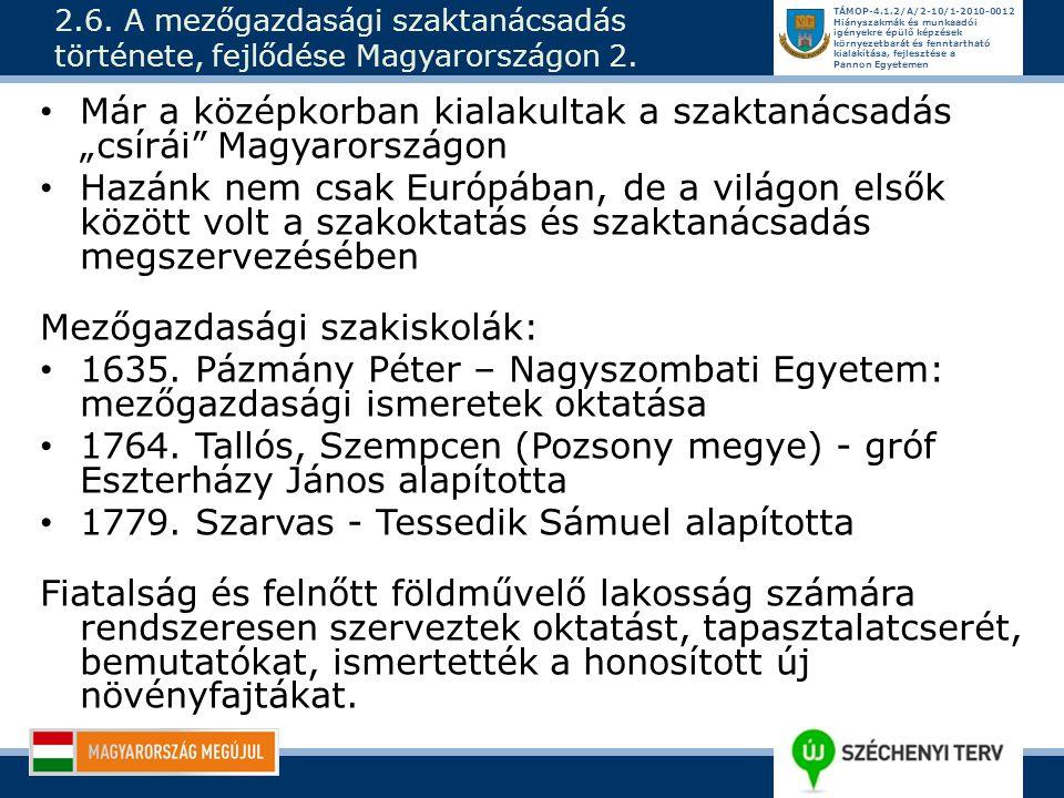 """Már a középkorban kialakultak a szaktanácsadás """"csírái Magyarországon"""