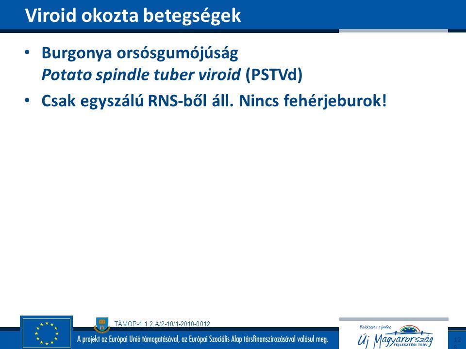 Viroid okozta betegségek