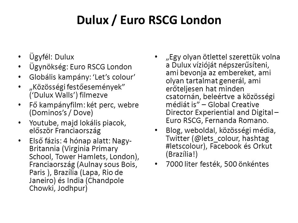 Dulux / Euro RSCG London