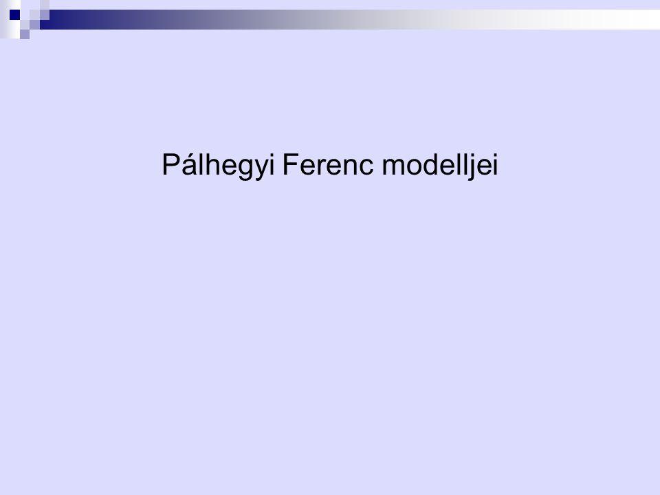 Pálhegyi Ferenc modelljei