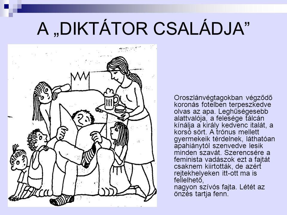 """A """"DIKTÁTOR CSALÁDJA"""