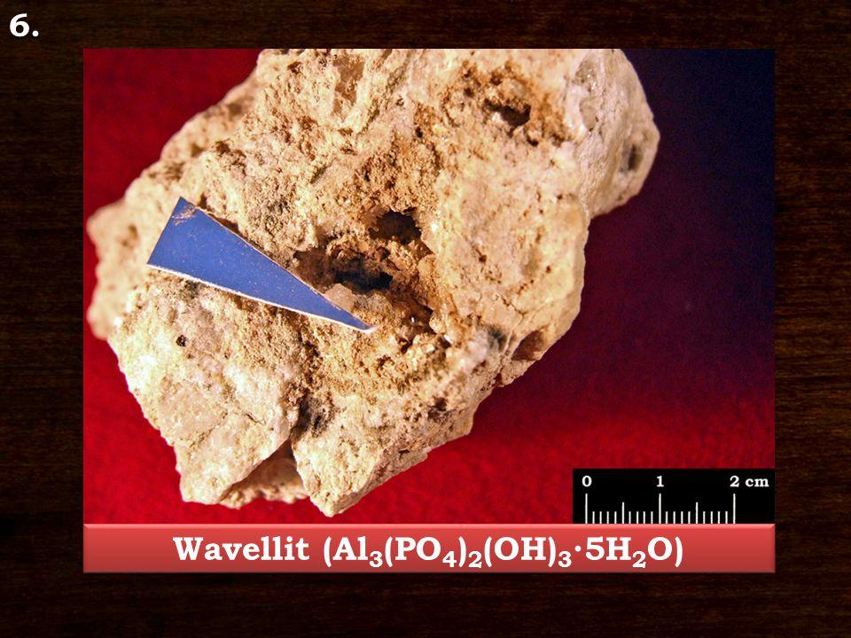 Wavellit (Al3(PO4)2(OH)3∙5H2O)