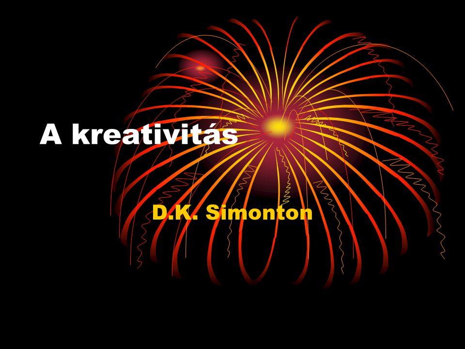 A kreativitás D.K. Simonton