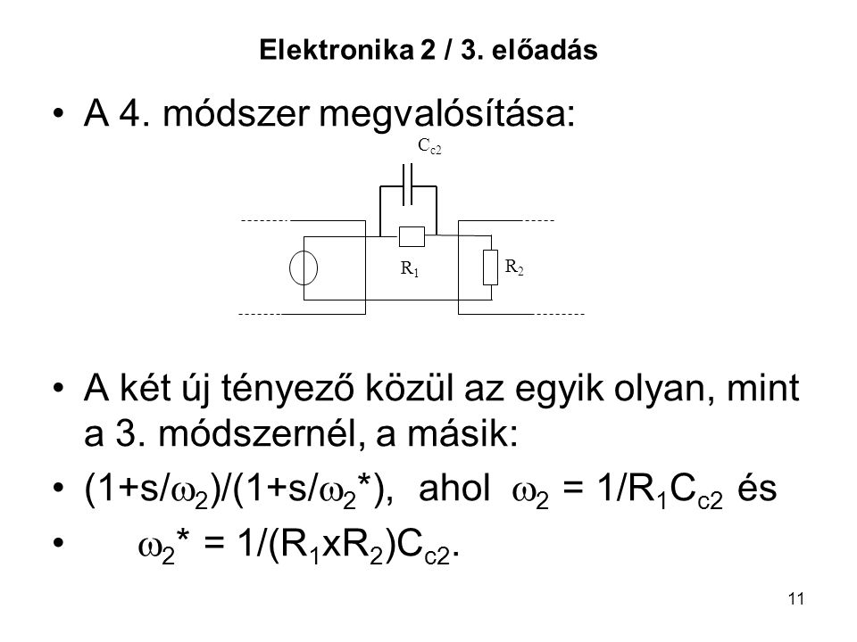 A 4. módszer megvalósítása:
