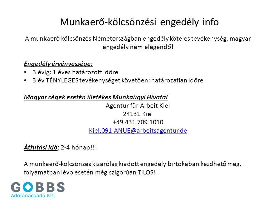Munkaerő-kölcsönzési engedély info