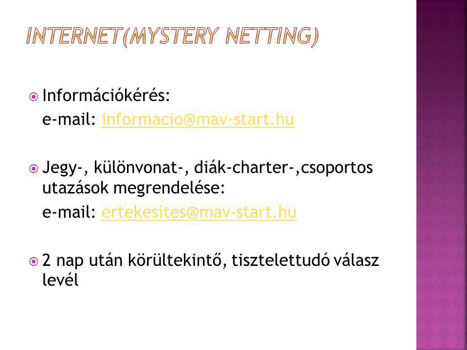 Internet(Mystery Netting)