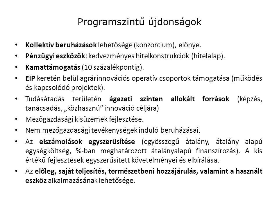 Programszintű újdonságok