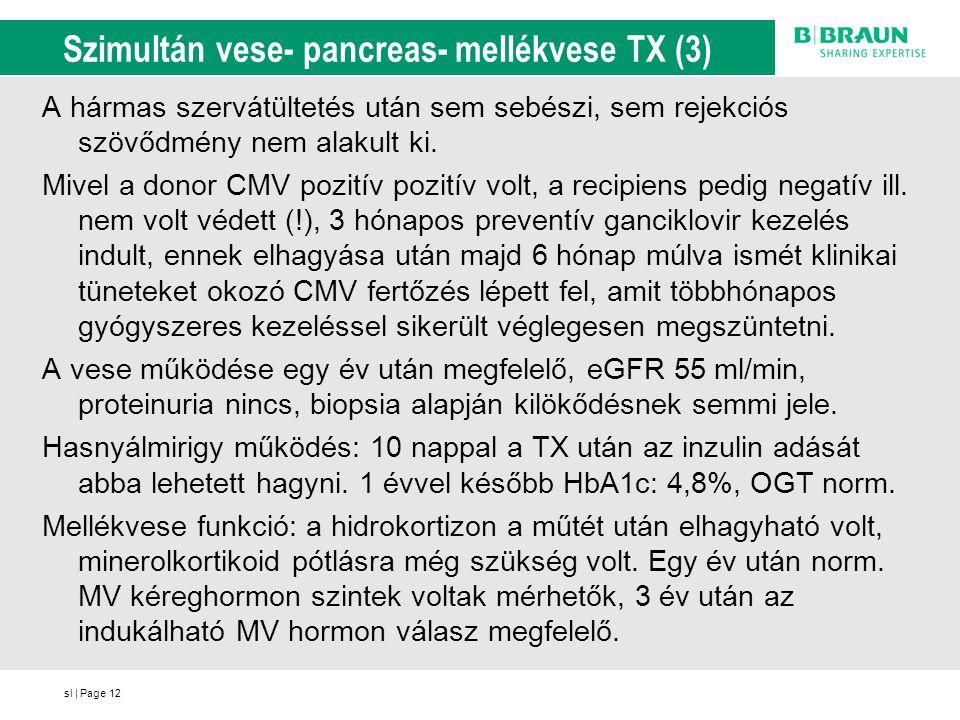 Szimultán vese- pancreas- mellékvese TX (3)