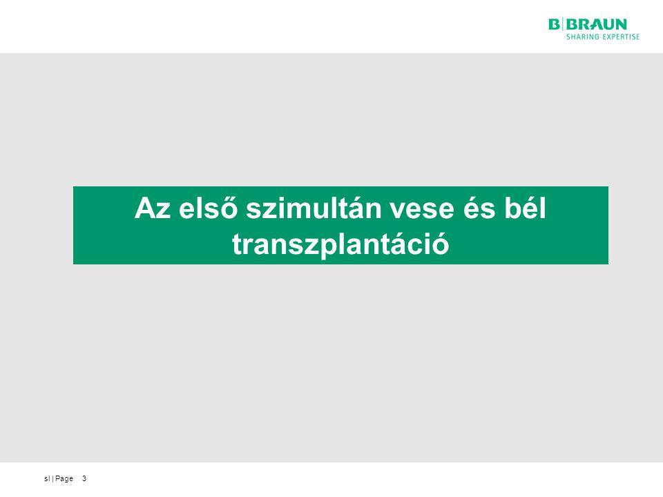 Az első szimultán vese és bél transzplantáció