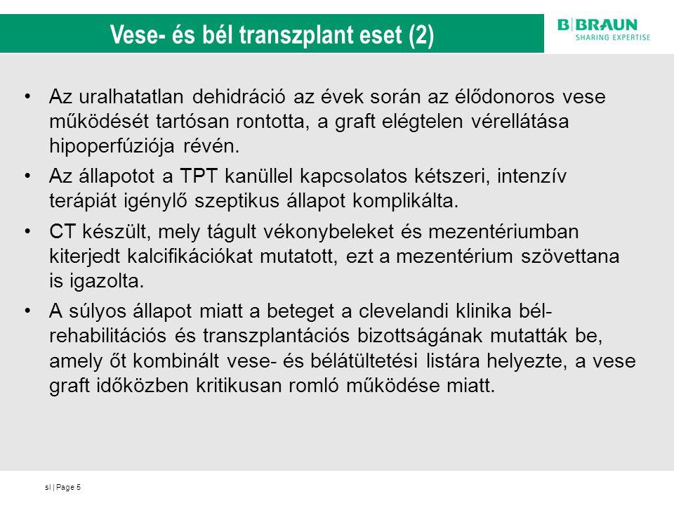 Vese- és bél transzplant eset (2)