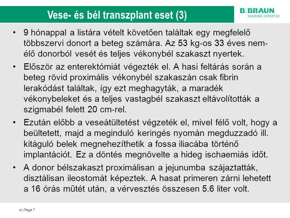 Vese- és bél transzplant eset (3)
