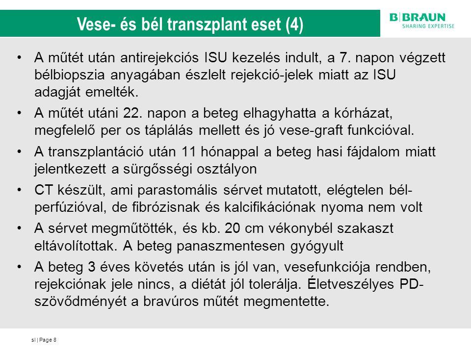 Vese- és bél transzplant eset (4)