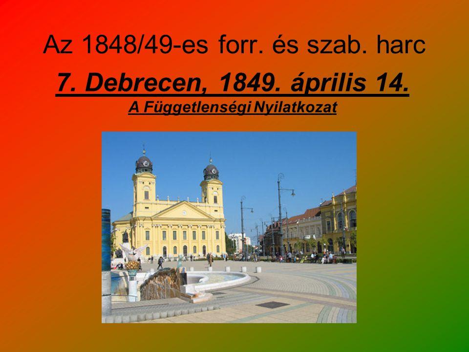 Az 1848/49-es forr. és szab. harc