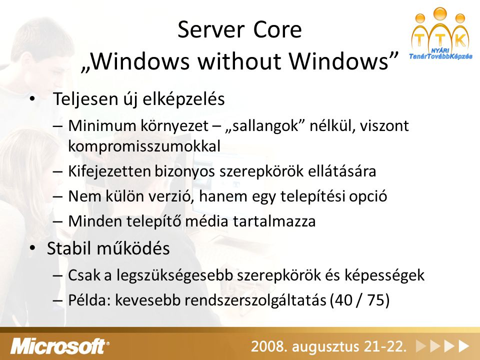 "Server Core ""Windows without Windows"