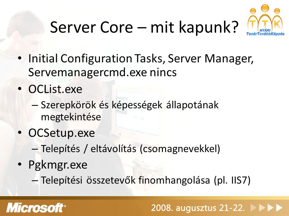 Server Core – mit kapunk